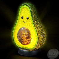 The Toy Network Sparkle Avocado Lamp