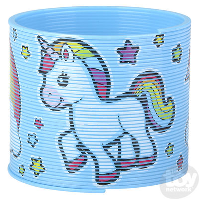 The Toy Network Unicorn Coil Spring Slinky (Large)