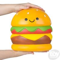 """The Toy Network Jumbo Squishie Hamburger (9.5"""")"""