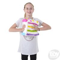 """The Toy Network Jumbo Squishie Birthday Cake (11"""")"""