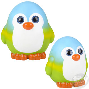 The Toy Network Jumbo Sparkle Eye Penguin Squishie