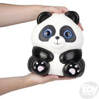 The Toy Network Jumbo Sparkle Eye Panda Squishie