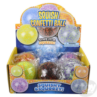 The Toy Network Squishie Confetti Ball
