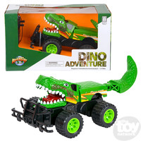 "The Toy Network T-Rex Dinosaur Advemture Remote Control Car (14"")"