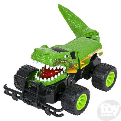 "The Toy Network T-Rex Dinosaur Advemture Remote Control Car (14"")"