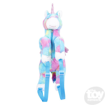The Toy Network Multi Color Unicorn Backpack