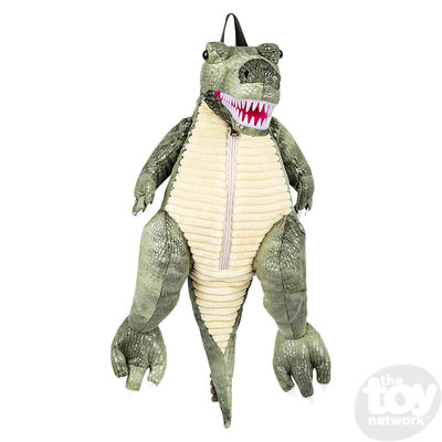 The Toy Network T-Rex Dinosaur Backpack with Plastic Teeth