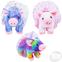 The Toy Network Baby Pig in a Tutu Plush Stuffed Animal