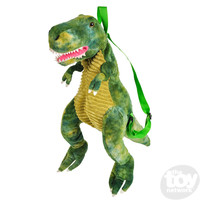 The Toy Network Dinosaur Backpack T-Rex, Green