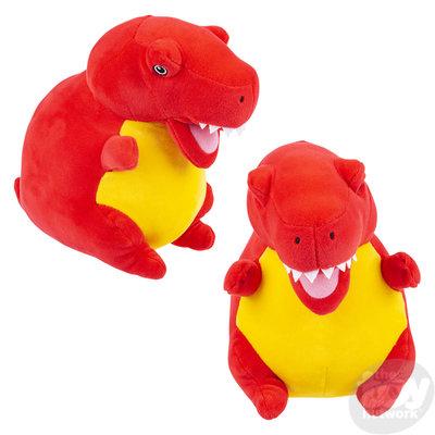 "The Toy Network Puffy Fluff T-Rex Dinosaur Plush Stuffed Animal (11"")"
