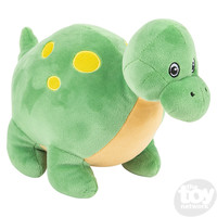 "The Toy Network Puffy Fluff Apatosaurus Dinosaur Plush Stuffed Animal (11"")"