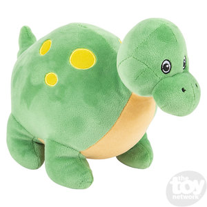 "The Toy Network Puffy Fluff Apatosaurus Dinosaur Plush Stuffed Animal (11"")"