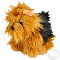 "The Toy Network Heirloom Floppy Yorkshire Terrier Plush Stuffed Animal (12"")"