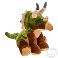 "The Toy Network Heirloom Floppy Triceratops Dinosaur Plush Stuffed Animal (12"")"