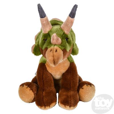 "The Toy Network Heirloom Floppy Triceratops Dinosaur Plush Stuffed Animal (12"")"