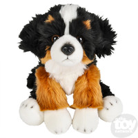 "The Toy Network Heirloom Floppy Bernese Mountain Dog Plush Stuffed Animal (12"")"
