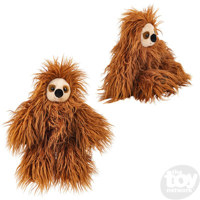 "The Toy Network Heirloom Shaggy Sloth Plush Stuffed Animal (16"")"