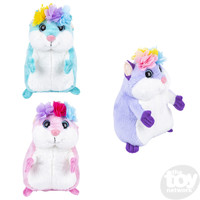 The Toy Network Fairy Princess Hamster Plush Stuffed Animal