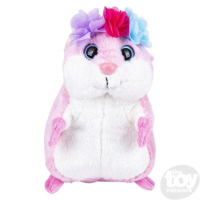 The Toy Network Fairy Princess Hamster Plush Stuffed Animal