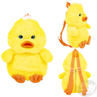 "The Toy Network Baby Chicken Backpack (17"")"