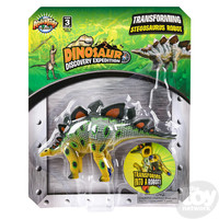 The Toy Network Stegosaurus  Dinosaur Robot Transforming Action Figure