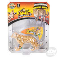 The Toy Network Leopard Transforming Robot Action Figure