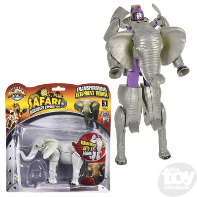 The Toy Network Elephant Robot Transforming Action Figure
