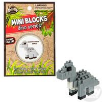 The Toy Network Mini Blocks Dino Series - Brontosaurus Dinosaur
