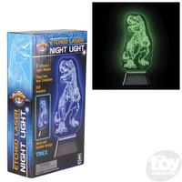 "The Toy Network 3D Laser Night Light T-Rex Dinosaur (11"")"