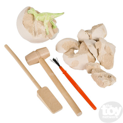 The Toy Network Glow in Dark Dinosaur Dig Excavation Set