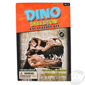 The Toy Network T-Rex Dinosaur Deluxe Fossil Excavation Kit