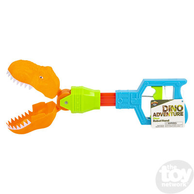 "The Toy Network Dinosaur Robot Grabber Hand (14"")"