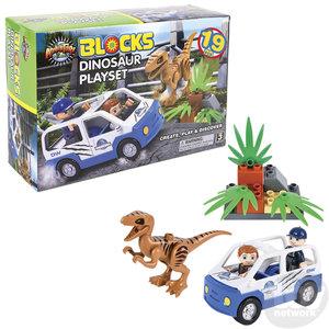The Toy Network Dinosaur Blocks Playset - 19 Pieces