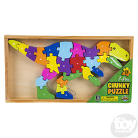 The Toy Network Wooden T-Rex Dinosaur Puzzle - 26 Pieces