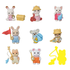 Calico Critters Calico Critters - Blind Bag Surprise Toy! Baby Outdoor Series - Collect all 9!