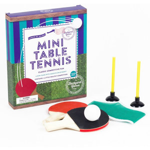 Professor Puzzle Mini Table Tennis Game with Massive Enjoyment! - Ages 8+