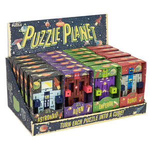 Professor Puzzle Puzzle Planet Game - Ages 6+