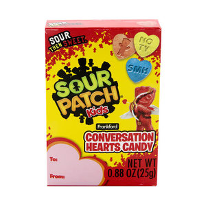 Redstone Foods Sour Patch Kids Conversation Hearts Candy