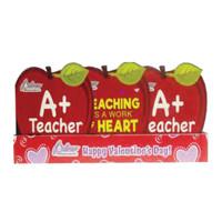 Redstone Foods A+ Teacher - Apple Valentines Heart Box