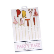 Packed Party Cake Toppers - Party!