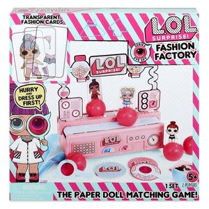 KidFocus L.O.L. Surprise Doll Fashion Factory Game LOL
