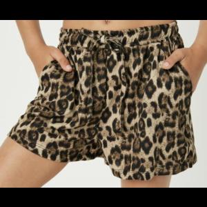 Hayden Shorts - Leopard Print Drawstring
