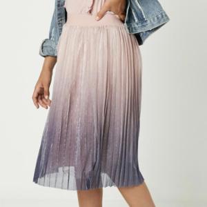 Hayden Skirt - Pleated Ombre