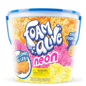 Play Visions Foam Alive - 3 Neon Colors in one Bucket (10.58 oz)