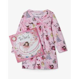 Hatley Twinkle - Night Dress/Nightgown + Book -