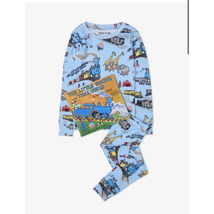 Hatley The Little Engine That Could - Pajamas + Book -