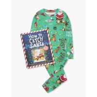 Hatley How to Catch Santa Pajama Set w/ Book (Flat Pack)