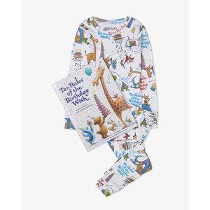 Hatley Ten Rules of a Birthday Wish - Pajamas + Book -