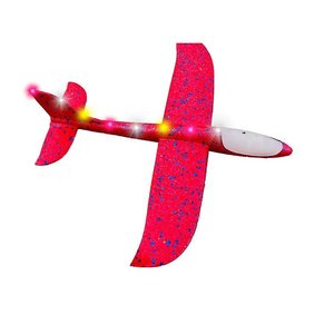 Spin Copter LED Sky Glider - RED