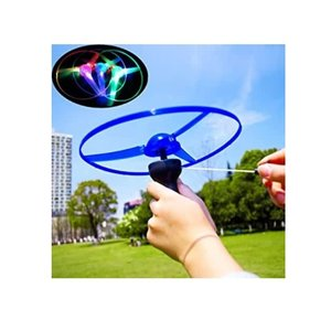 Spin Copter UFO Pull String w/LED lights